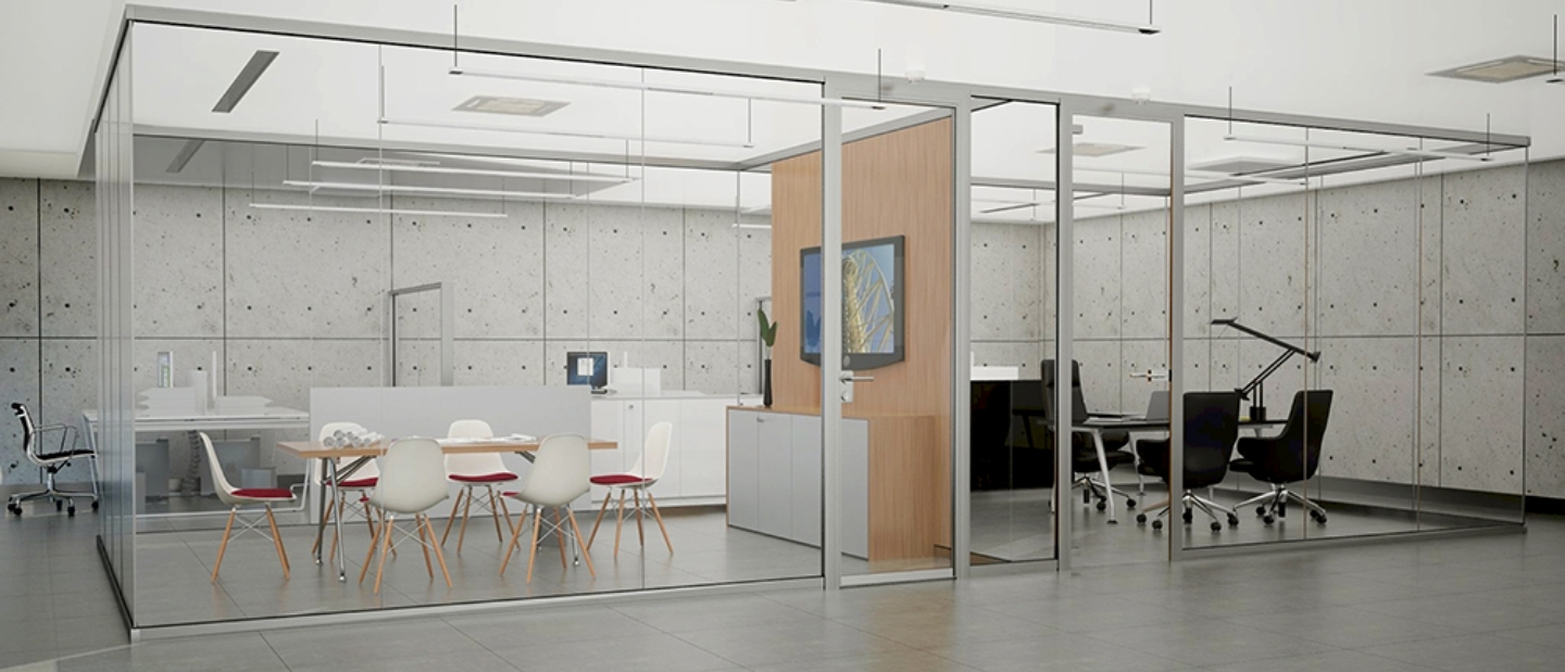Bon Partition Walls. Glass Partitions