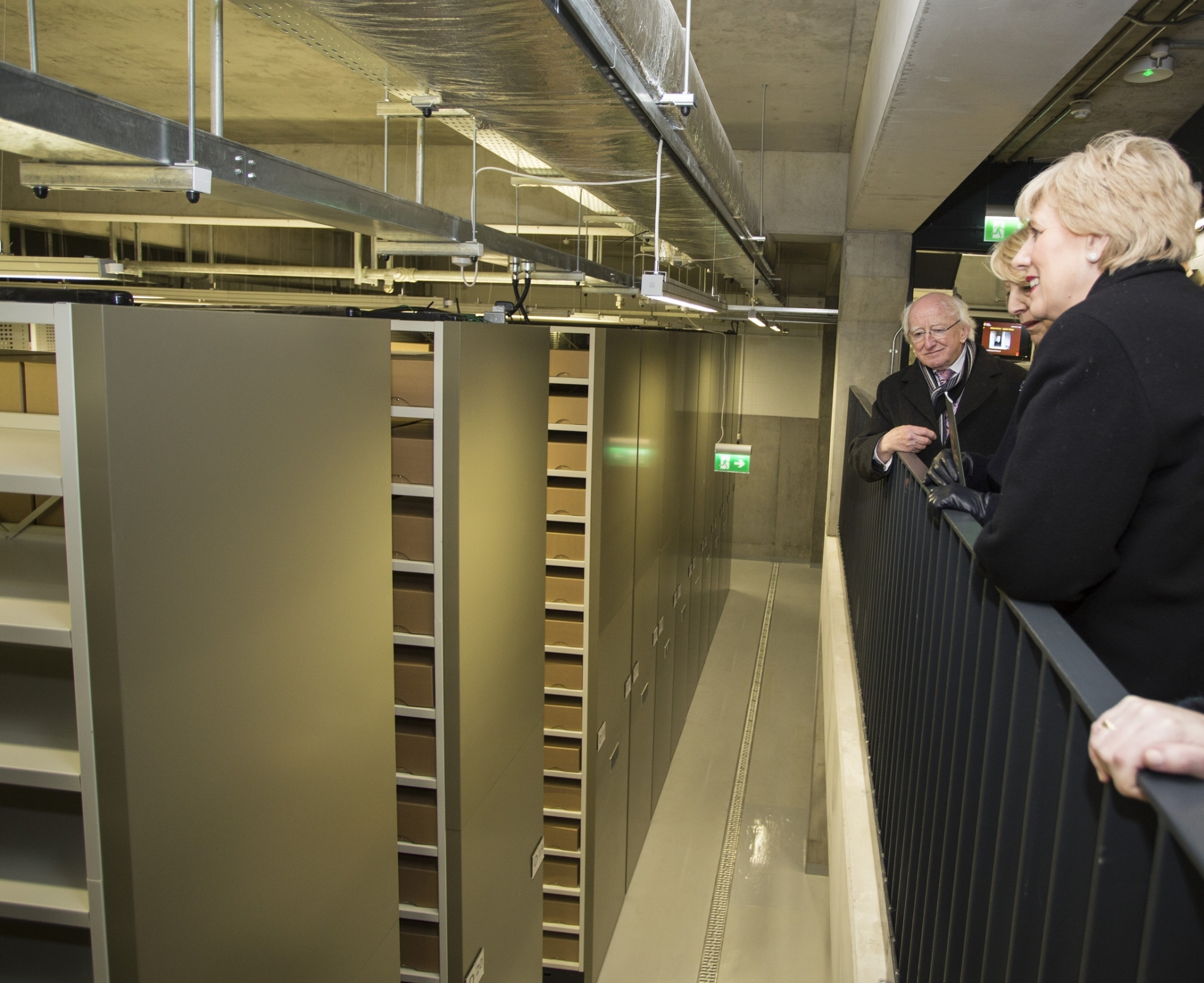 Largest Installation of Electronic Mobile Shelving in Ireland