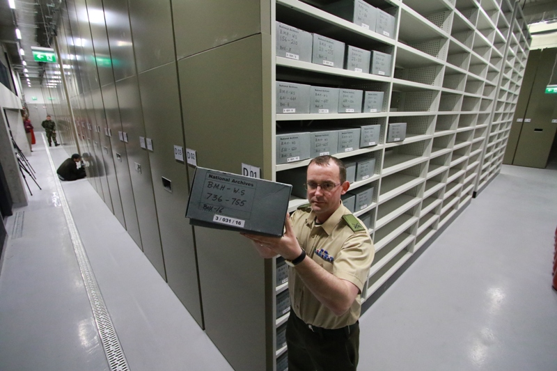 Secure Storage of Archive Material