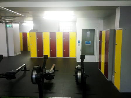 Storage Lockers and benches