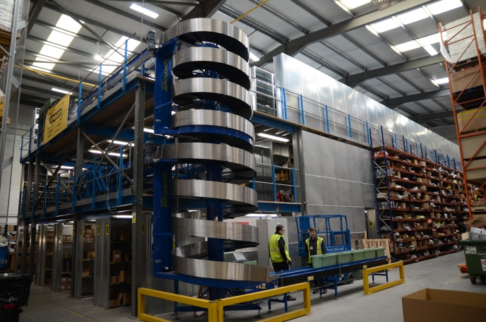 Storage Systems completes large project for Tucks O'Brien