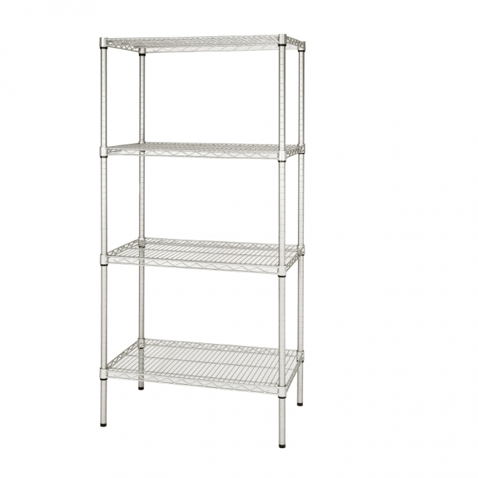 Our Anti Bacterial Perma Plus wire shelving best suited for hospitals