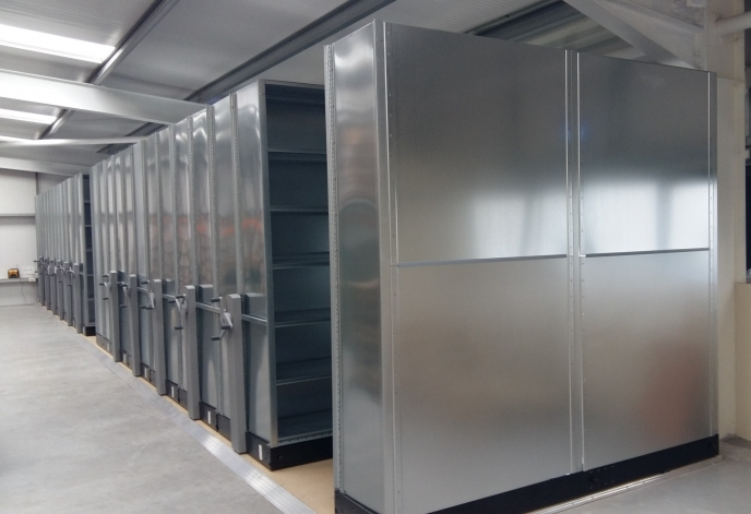 Compactus HI280 Mobile Shelving for Medtronic Galway