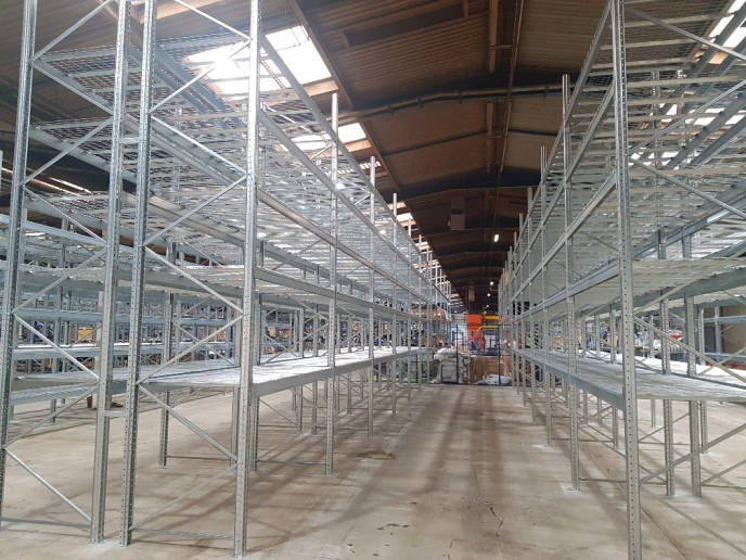 Large Pallet Racking installation completed in Northern Ireland