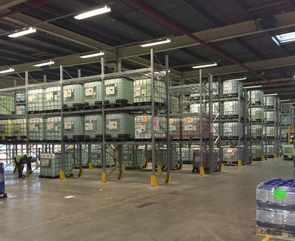 Ecolab chooses Dexion Pallet Racking