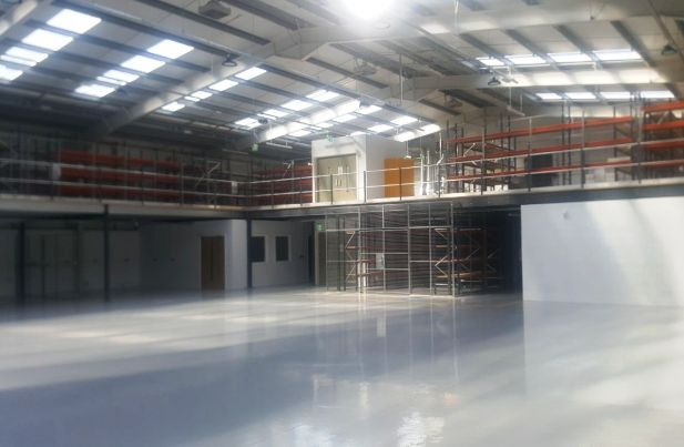 Mezzanine Floor & Longspan Shelving fitout for Inland Fisheries