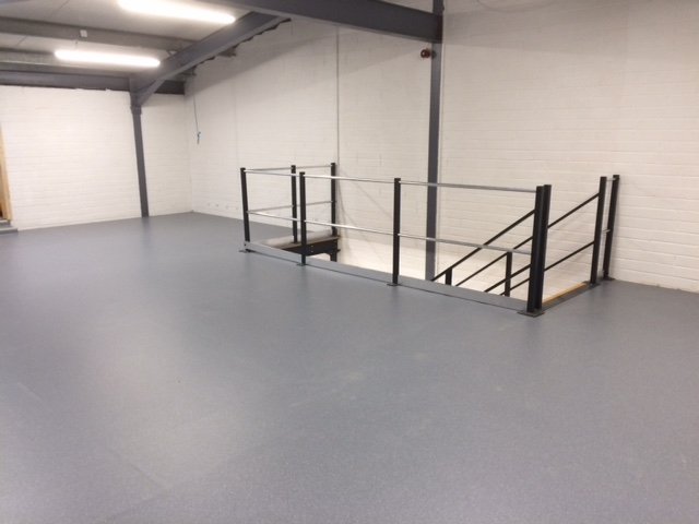 Shelving and Mezzanine Floor fitout for CH Marine Cork