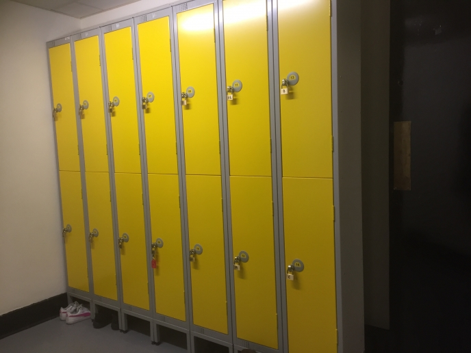 Locker fitout for Maldron Hotel Dublin