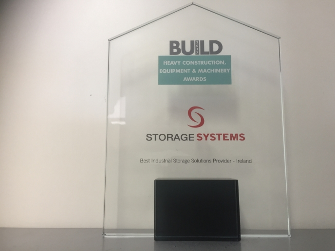 Storage Systems Wins Award as Best Industrial Storage Solutions Provider - Ireland