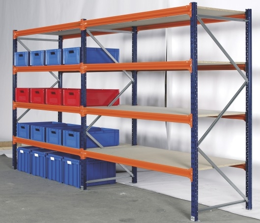 Store those awkward bulky sized products with our Longspan Shelving