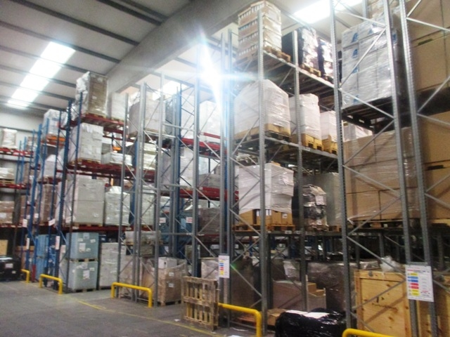 Pallet Racking and Mezzanine Floor for Lynx Logistics Galway