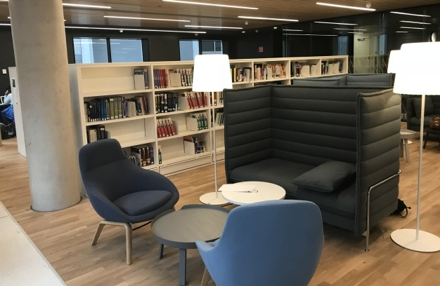 Library Shelving fitout for Royal College of Surgeons