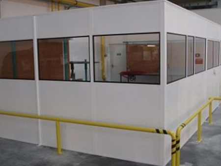 steel warehouse partitions