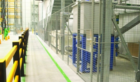 Steel Mesh Partitioning